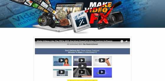 VideoMakerFX Review Video Creation Software