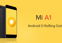 mi a1 oreo official update