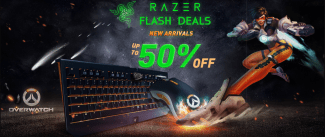GeekBuying's Razer Flash Deals upto 50% OFF