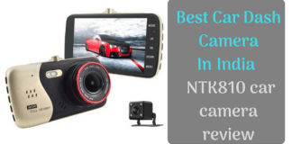 Best Car Dash Camera In India _ NTK810 car camera review