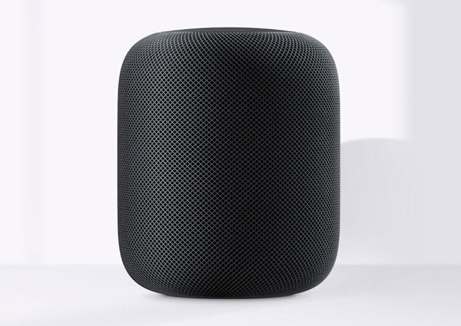Apple lets you see some technical characteristics of the HomePod