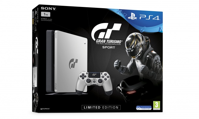 Sony announces limited edition of Gran Turismo Sport-themed PS4