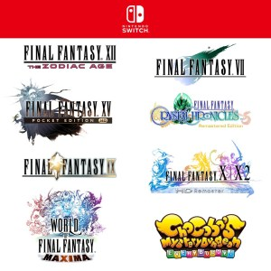 Several Final Fantasy Classics will Premiere on Switch and Xbox One