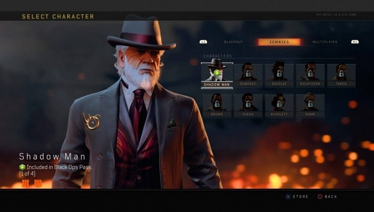 Shadow Man is the First Character of the CoD Black Ops 4 pass