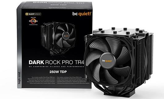 The Dark Rock Pro TR4 is a be Quiet Heatsink! for Threadripper