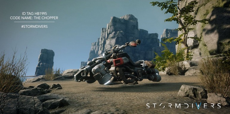 Stormdivers The Battle Royale of Housemarque will have PvE Modes