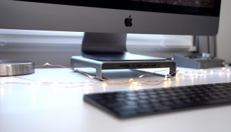 Satechi's Aluminum iMac Stand Affords Handy, Front Facing I/O