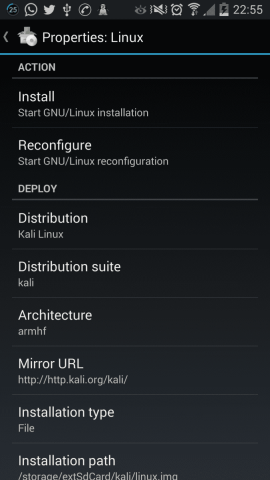 How to Install and run Kali Linux on any Android Smartphone