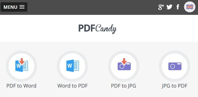 PDF Candy : The best free all-in-one online solution for