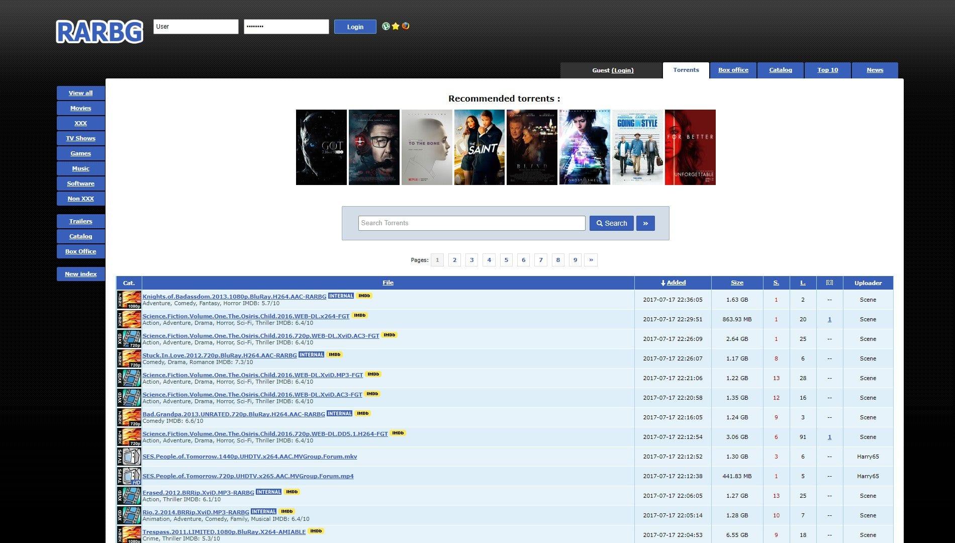 free torrent website