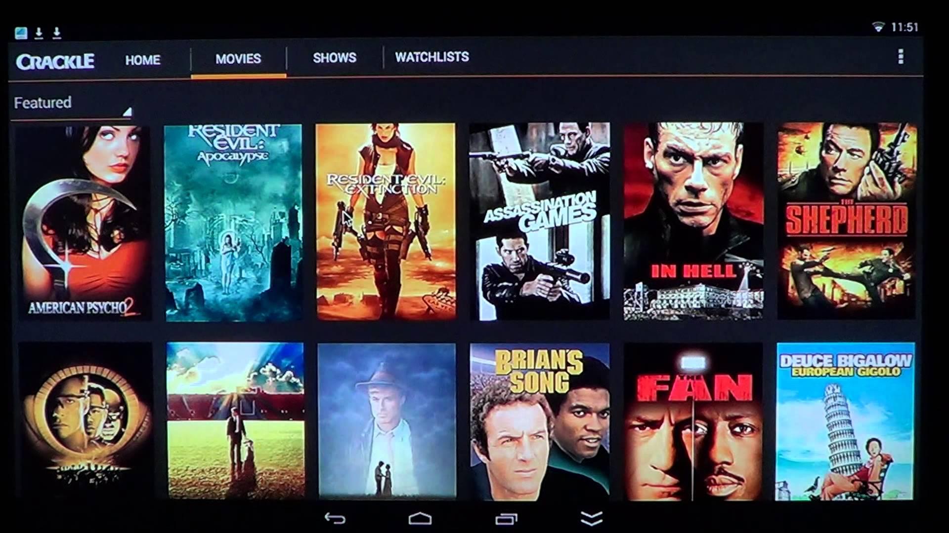 free movie downloader apps