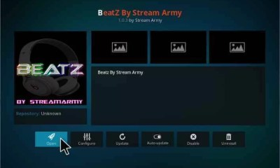 Beatz Kodi Add-on