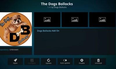 Dogs Bollocks Kodi Add-on