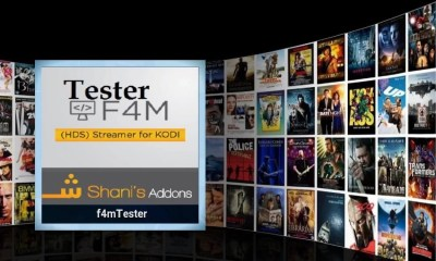 F4M Tester Kodi Add-On