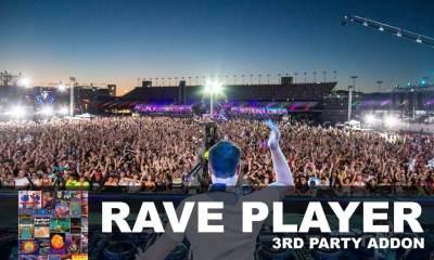 Rave Player Kodi Add-On