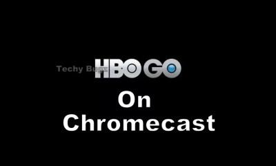 HBO GO on Chromecast