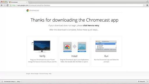 Chromecast on Mac
