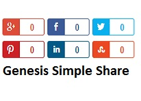 How to Get Genesis Social Share Buttons like in Studiopress Website