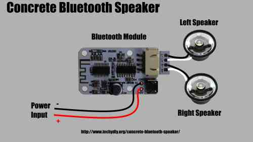 small resolution of concrete bluetooth speaker wiring diagram