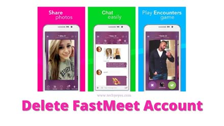 Delete FastMeet Account