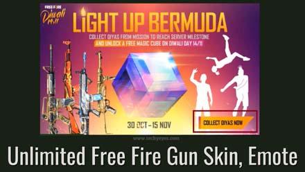 Unlimited Free Fire Gun Skin Emote
