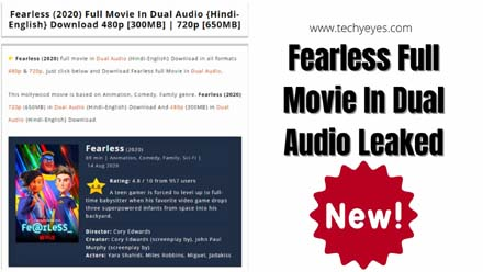 Fearless Full Movie In Dual Audio