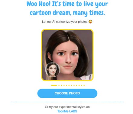Create Your Cartoon Picture Within a Minute