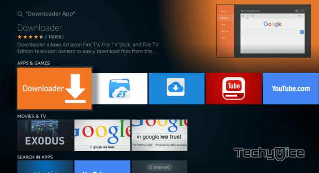 How to Install Downloader app for FireStick? [2019] - TechyMice