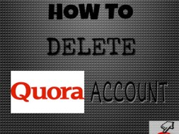 delete quora account