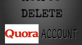 5 Quick Steps To Delete Quora Account Immediately