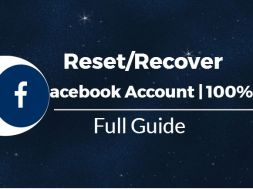 Reccover facebook account