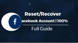 Recover Username And Password For Facebook Account | 100% Working