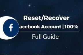 Reccover facebook account