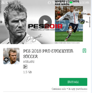PES 2018 Android Review | Download | Graphics Will Blow Your