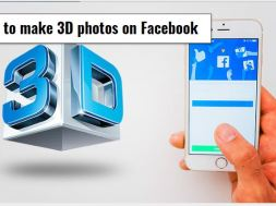 How to 3d photos on Facebook