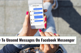 How To Unsend Messages On Facebook Messenger