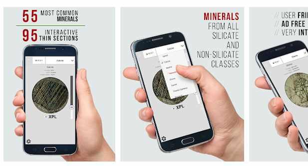Virtual Microscope - Minerals