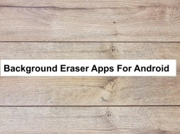 background eraser apps for android