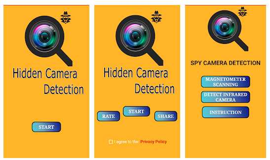 Hidden Spy Camera Detection -Spy Camera Detection