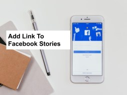 how to add link to facebook stories