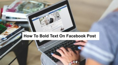bold text in facebook