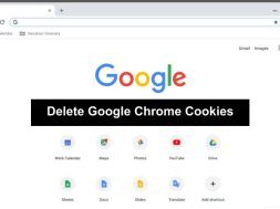 delete cookies in google chrome
