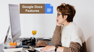 google docs features