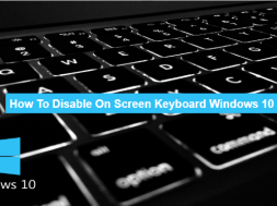 how to disable on screen keyboard