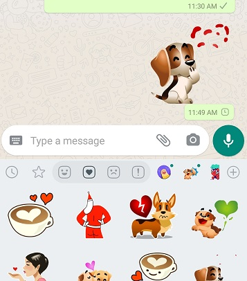 Add Animated Stickers To WhatsApp