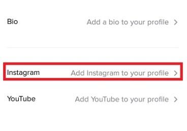 How To Link TikTok To Instagram