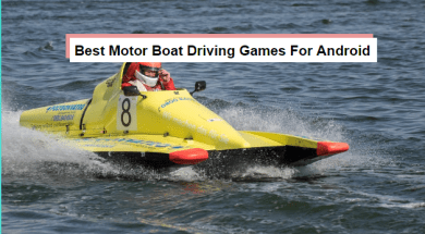 best motor boat driving games for android