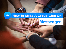 how to make a group chat on messenger