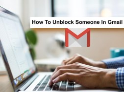 how to unblock someone in gmail
