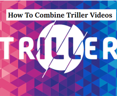 how to combine triller vodeos